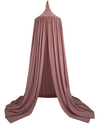 Numero 74 Bed Canopy - Dusty Pink - 100% Cotton Muslin Canopies