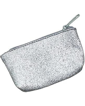 Numero 74 Borsellino Glitter Argento - Regalino perfetto per le feste!  Regalini