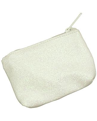 Numero 74 Borsellino Glitter Bianco - Regalino perfetto per le feste!  Regalini