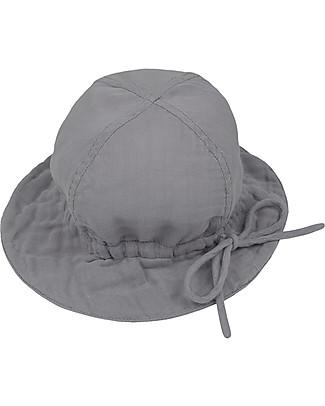 Numero 74 Cappellino Estivo Lili, Grigio Pietra - 100% cotone bio Cappelli Estivi