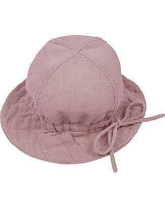 Numero 74 Cappellino Estivo Lili, Rosa Antico - 100% cotone bio Cappelli Estivi