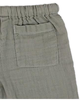 Numero 74 Completo Casacca e Pantaloni Dan, Argento - 100% cotone (1/4 anni) Cerimonia