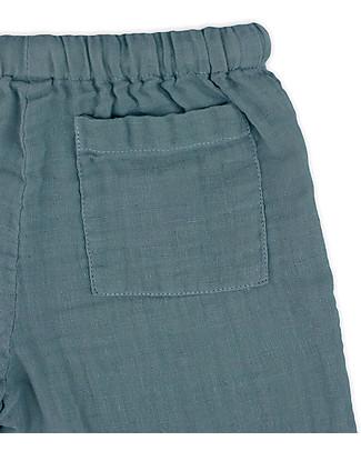 Numero 74 Completo Casacca e Pantaloni Dan, Blu Ghiaccio - 100% cotone (1/4 anni) Cerimonia