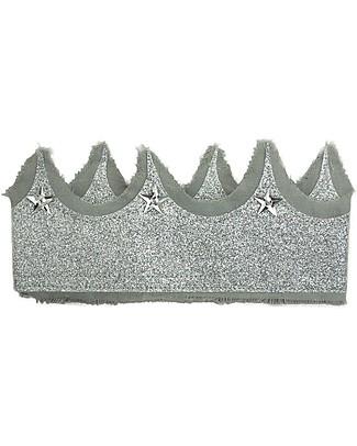 Numero 74 Corona Glitter - Tulle Argento null