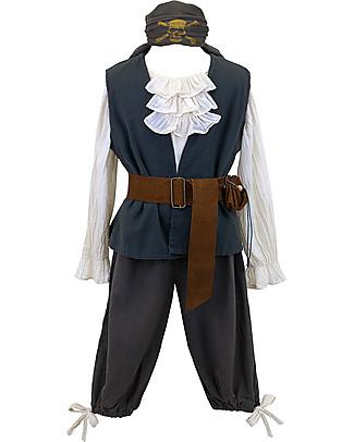 Numero 74 Costume da Pirata - Perfetto per Carnevale e Halloween! 3-5 anni Travestimenti