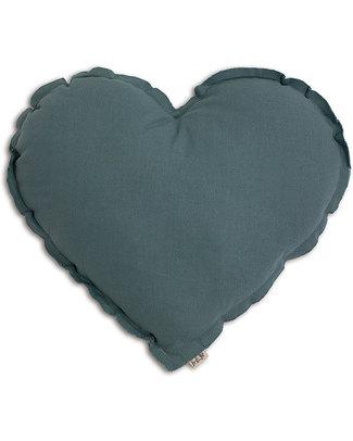 Numero 74 Cuscino Cuore Medium - Blu Ghiaccio Cuscini Arredo