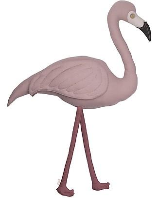 Numero 74 Cuscino Fenicottero Polly - Cotone bio Cuscini Arredo