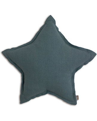 Numero 74 Cuscino Stella Medium - Blu Ghiaccio Cuscini Arredo