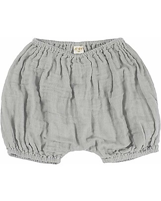 Numero 74 Emi Pantalone Palloncino Bloomer - Grigio Argento Pantaloni Corti