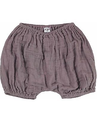 Numero 74 Emi Pantalone Palloncino Copripannolino Bloomer - Dusty Lilac Pantaloni Corti