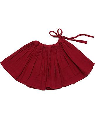 Numero 74 Gonna Tutù, Rosso Rubino - 100% cotone Gonne