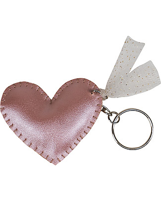 Numero 74 Iridescent Heart Keychain - Pink - Perfect Gift! Party Favours