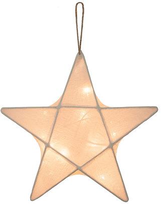 Numero 74 Lampada Stella Medium 50 x 50 cm- Ecru - 100% Cotone Lampade Comodino