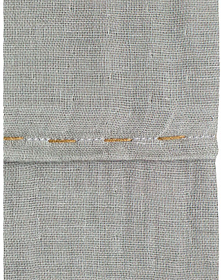 Numero 74 Lenzuolo Superiore – Grigio Argento, 110x170 cm Lenzuola