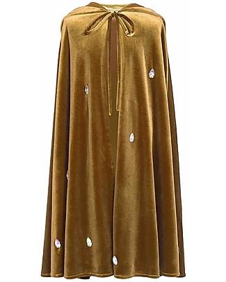 Numero 74 Mantello Bimba Leia - Oro - 100% Cotone Travestimenti