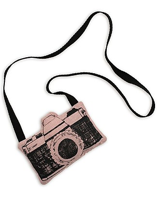 Numero 74 Mini Macchina Fotografica di Stoffa, Rosa - Perfetto regalino per le feste Regalini