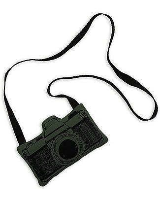 Numero 74 Mini Macchina Fotografica di Stoffa, Verde - Perfetto regalino per le feste Regalini