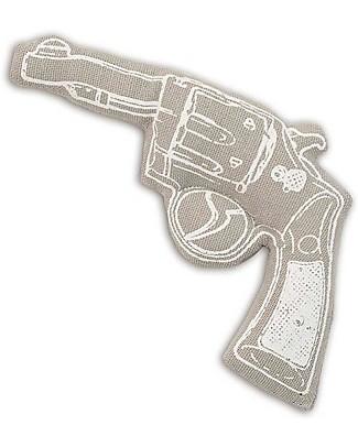 Numero 74 Mini Pistola di Stoffa - Grigio - Perfetto regalino per le feste null