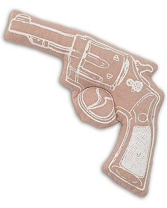 Numero 74 Mini Pistola di Stoffa - Rosa - Perfetto regalino per le feste null