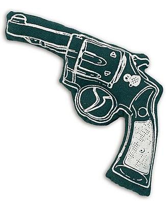 Numero 74 Mini Pistola di Stoffa - Verde Scuro - Perfetto regalino per le feste Regalini