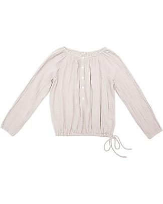 Numero 74 Naia, Camicia Mamma Maniche Lunghe, Cipria  - 100% cotone Top