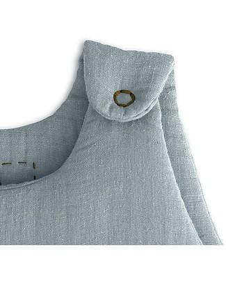 Numero 74 Sacco Nanna Invernale 6-12 mesi, Celeste - 100% Cotone Sacchi Nanna Leggeri