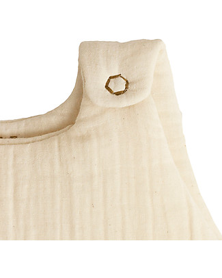 Numero 74 Sacco Nanna Invernale 6-12 mesi, Natural - 100% Cotone Sacchi Nanna Leggeri