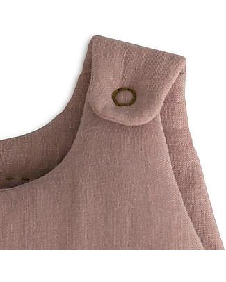 Numero 74 Sacco Nanna Invernale 6-12 mesi, Rosa Antico - 100% Cotone Sacchi Nanna Leggeri