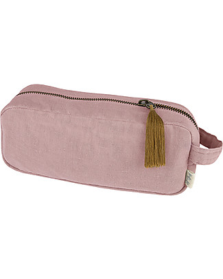 Numero 74 Trousse e Astuccio Essential Purse Medium, Rosa Antico - Cotone bio null