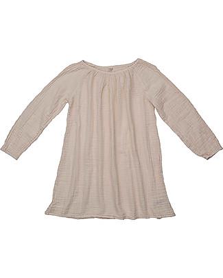 Numero 74 Tunica Donna Nina, Cipria - 100% Mussola di Cotone Bio Vestiti