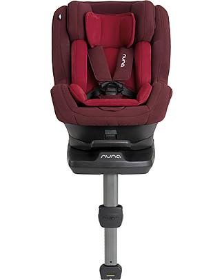 Nuna Seggiolino Auto REBL™ I-Size 0-4 anni Berry - Ruota a 360° in un clic! Accessori Seggiolini Auto