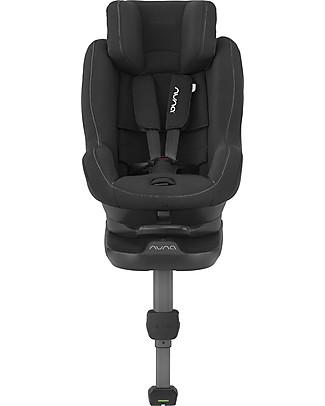 Nuna Seggiolino Auto REBL™ I-Size 0-4 anni Nero - Ruota a 360° in un clic! Accessori Seggiolini Auto