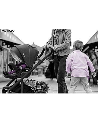 Nuna Trio Travel System Mixx, Caviar - Include ovetto, navicella e passeggino! Sistemi Combinabili