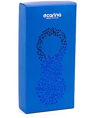 Ocarina Ocarina Lettore MP3 4GB per Bambini - Azzurro - 41 contenuti omaggio! MADE IN ITALY! Lettore Mp3