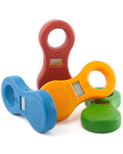 Ocarina Ocarina Lettore MP3 4GB per Bambini - Rosso - 41 contenuti omaggio! MADE IN ITALY! Lettore Mp3