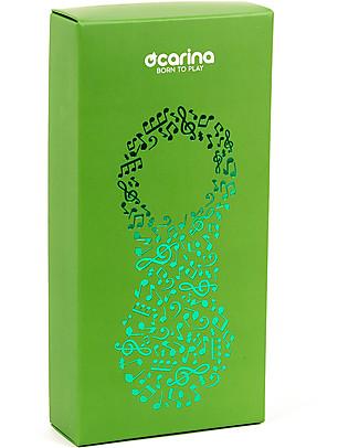 Ocarina Ocarina Lettore MP3 4GB per Bambini - Verde - 19 contenuti omaggio! MADE IN ITALY! Lettore Mp3
