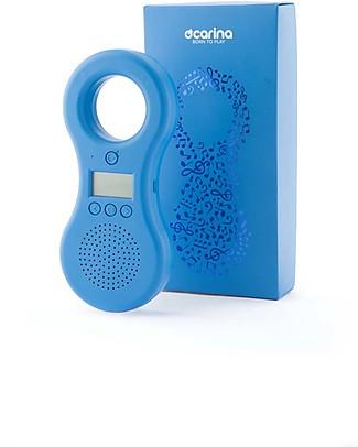 Ocarina Ocarina Lettore MP3 8GB per Bambini - Azzurro - 43 contenuti omaggio! MADE IN ITALY! Lettore Mp3
