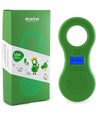 Ocarina Ocarina Mimì Edizione Limitata,Lettore MP3 8GB per Bambini - Verde - Rumori Natura! MADE IN ITALY! Lettore Mp3