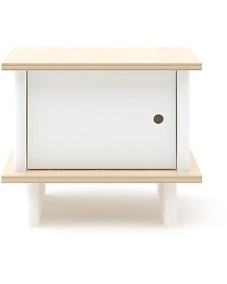 Oeuf Comodino ML - Bianco/Betulla Cassettiere