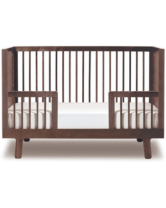 Oeuf Kit di Conversione Sparrow Crib - Noce - (da lettino con sbarre a lettino junior!) Lettini Con Sbarre