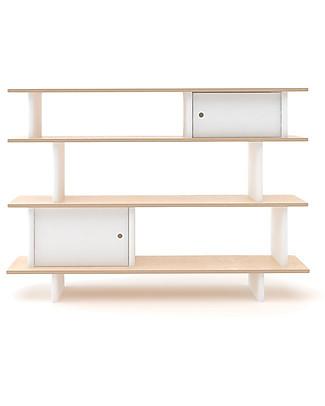 Oeuf Mini Libreria (Bianco/Betulla) Librerie