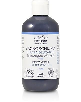 Officina Naturae Bagnoschiuma Ultradelicato No Parfum, 250 ml - Nessuna sostanza irritante! Bagno Doccia Shampoo