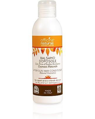 Officina Naturae Balsamo Nutriente Doposole, Per Capelli Sfibrati dal Sole - 150 ml Bagno Doccia Shampoo
