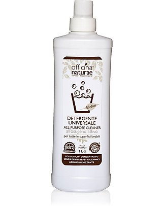 Officina Naturae Bio Detergente Universale per Tutte le Superfici Concentrato, 1lt Detergenza