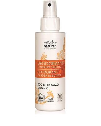 Officina Naturae Deodorante Spray Eco Biologico, Giardino Fiorito - 100 ml Deodoranti