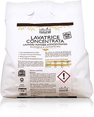 Officina Naturae Detersivo Lavatrice Concentrato in Polvere, 3 kg - Oltre 50 Lavaggi Detergenza Casa