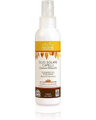Officina Naturae Olio Capelli Solare, Protettivo e Nutriente - 100 ml Cura dei Capelli