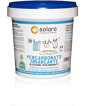 Officina Naturae Percarbonato Sbiancante per Bucato, Stoviglie e Accessori, 1 kg - Formula esclusiva potenziata Detergenza