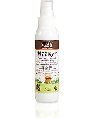 Officina Naturae Pizzicoff, Spray Protettivo Profumato, 100 ml Antizanzare