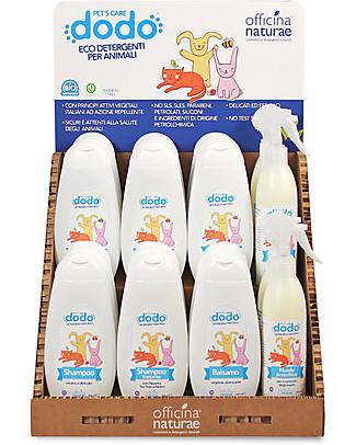 Officina Naturae Shampoo Ecologico Trattante Antiparassiti per Animali Domestici, 300 ml - Con Nepeta, Tea tree, Neem Shampoo e Balsamo